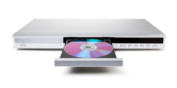 Disc in a DVD or CD Player